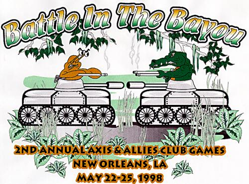 Battle in the Bayou Graphic