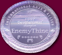 1997 Invitational Champion Plaque for EnemyThine